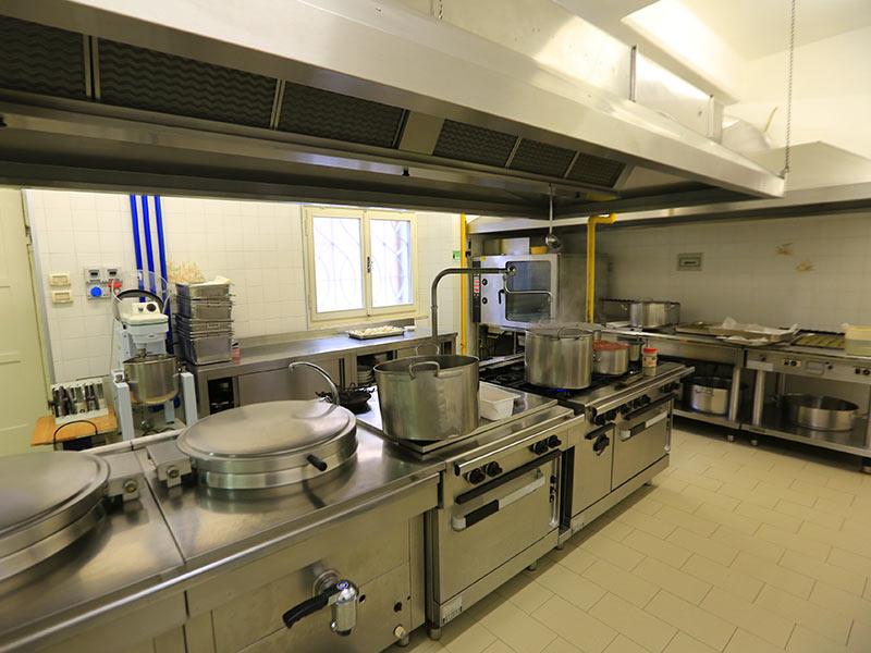 cucina - servizio mensa scuola pesaro