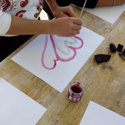 disegnare e colorare scuola sacro cuore pesaro